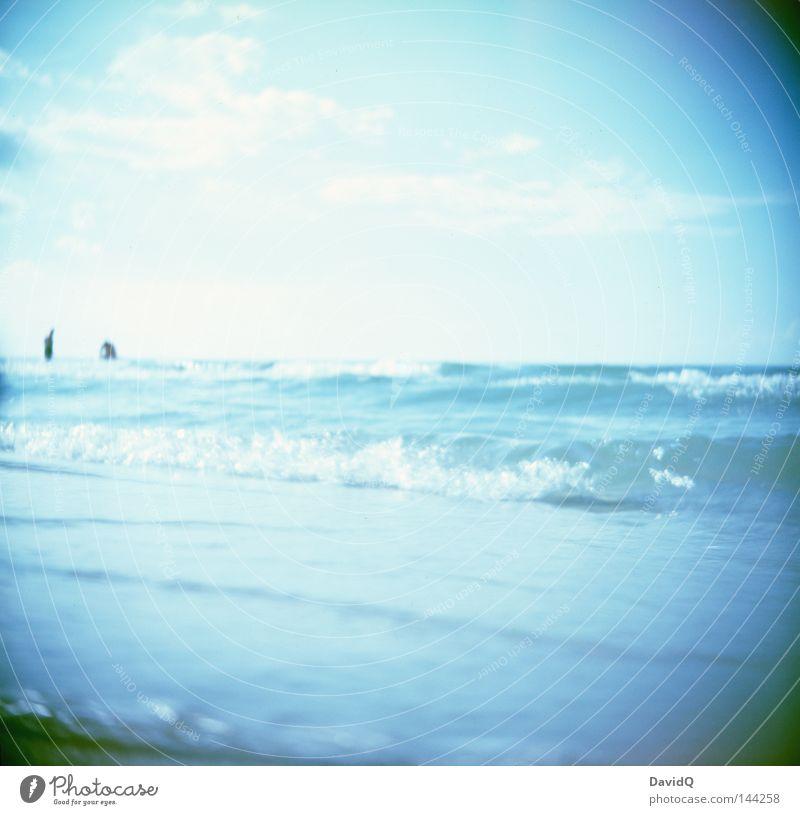 Water Ocean Summer Beach Clouds Lake Sand Waves Coast Horizon Swimming & Bathing Countries Americas Countries Lakeside