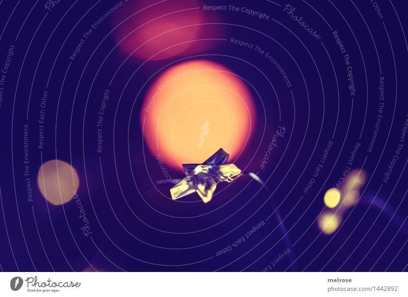 Christmas & Advent Beautiful Calm Warmth Style Think Moody Orange Glittering Design Dream Illuminate Elegant Gold Creativity To enjoy