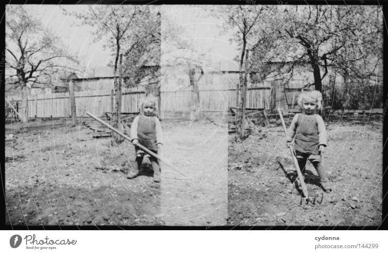 Child Nature Old Tree Summer Joy Life Emotions Boy (child) Garden Park 2 Time Together Photography Transience