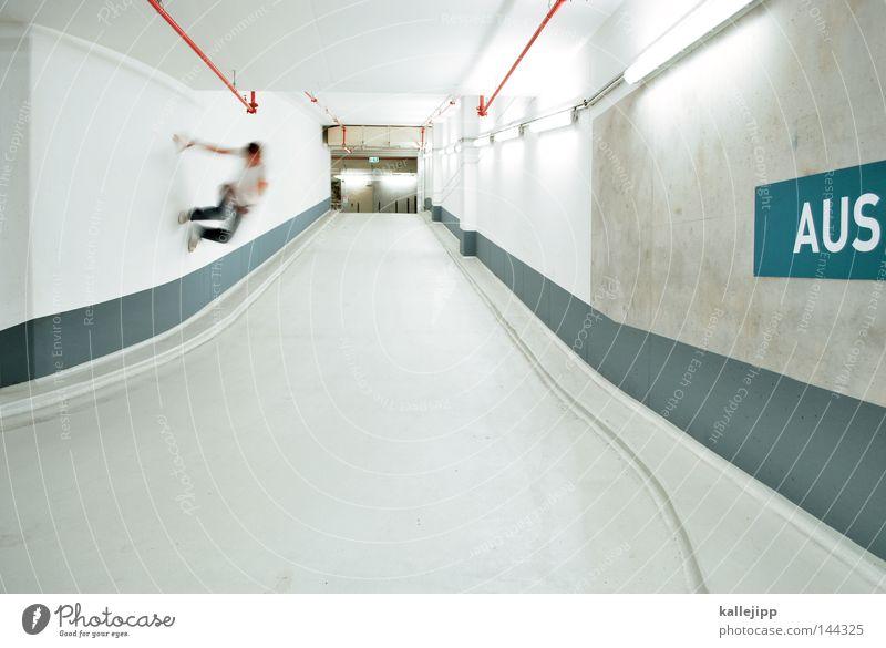 drop out Parking garage Ramp Street Lanes & trails Underground Line Commuter trains Orientation Man Human being Jump Joy Freestyle Salto Fiasco Lifestyle