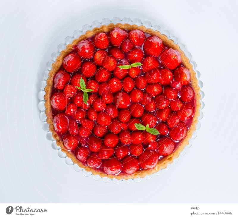 Eating Cooking & Baking Cake Dessert Baked goods Strawberry Gateau Classic Mint
