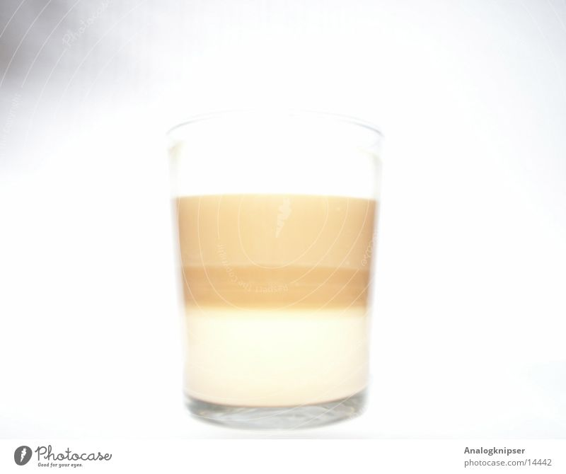 Glass Coffee Hot Milk Refreshment Espresso Latte macchiato