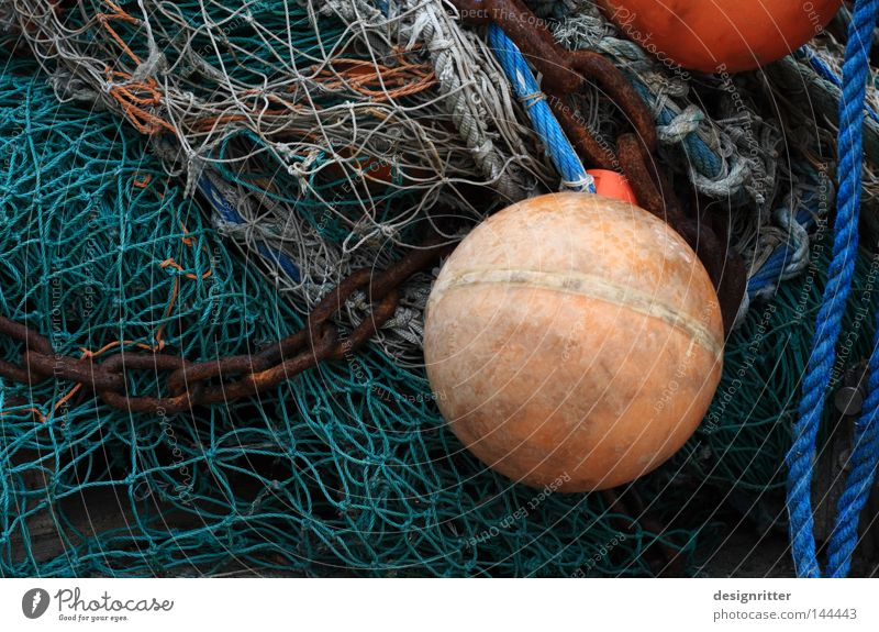 cross-linked Ocean Lake Baltic Sea Maritime Heap Stack Fishing net Canned fish Fishing boat Fishing (Angle) Fishery Fisherman Buoy Chain Harbour Fishing port