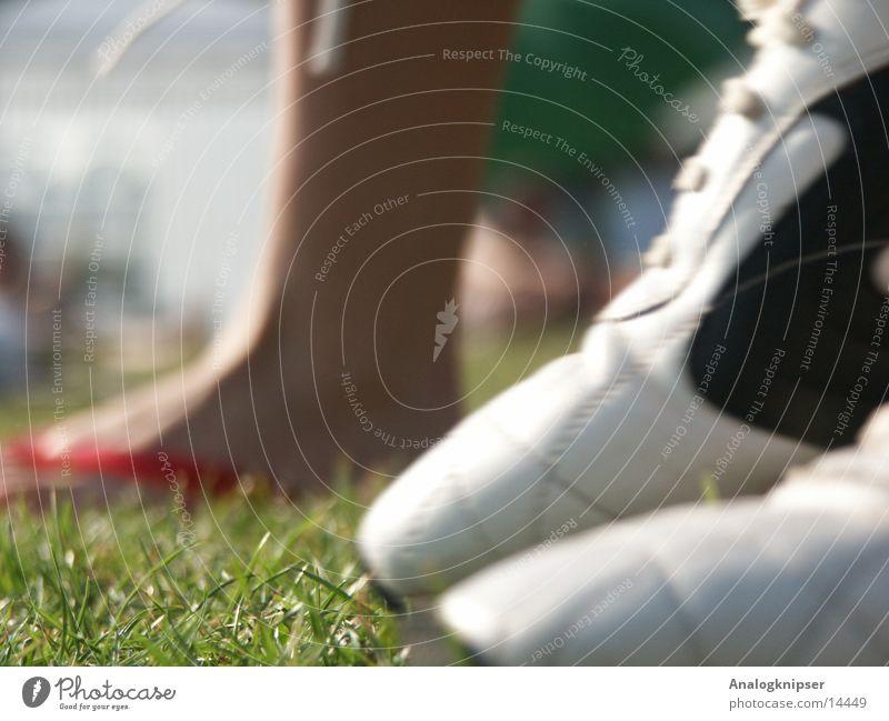 Sun Summer Grass Feet Footwear Legs Sneakers Flip-flops