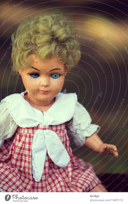 and your blue eyes ... Blonde Toys Doll Looking Old Esthetic Authentic Friendliness Creepy Retro Beautiful To console Infancy Sadness Past Feminine Abrasion