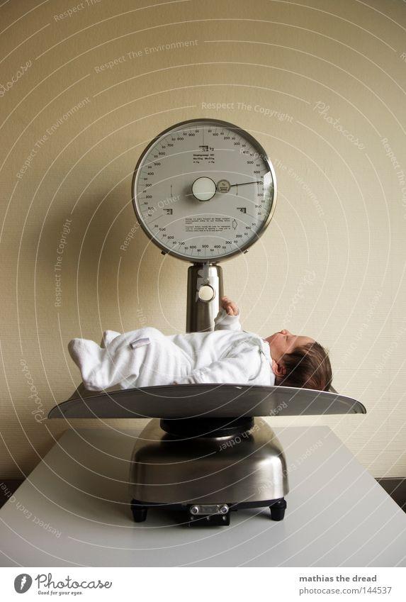 Baby Lie Individual Child Scale Offspring Weigh Newborn 1 Person