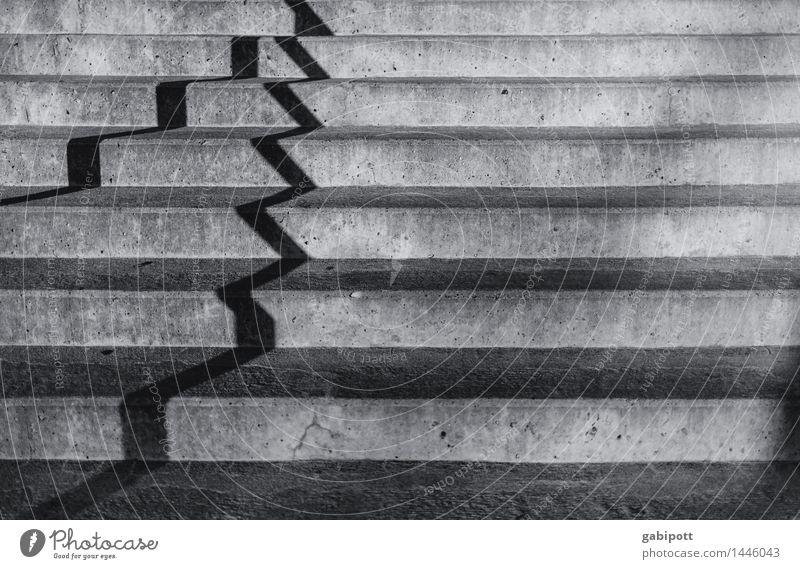 !trash! 2017 - zigzag Traffic infrastructure Lanes & trails Modern Surrealism Symmetry Town Irritation Stairs Zigzag Shadow play Black & white photo