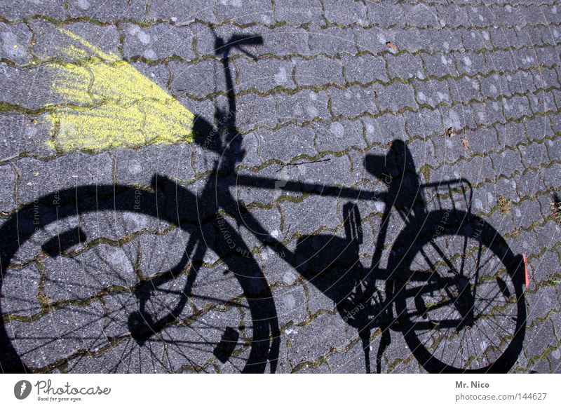 Red Black Yellow Gray Lamp Lighting Bicycle Leisure and hobbies Transport Cobblestones Chain Patch Floodlight Paving stone Road traffic Pedal