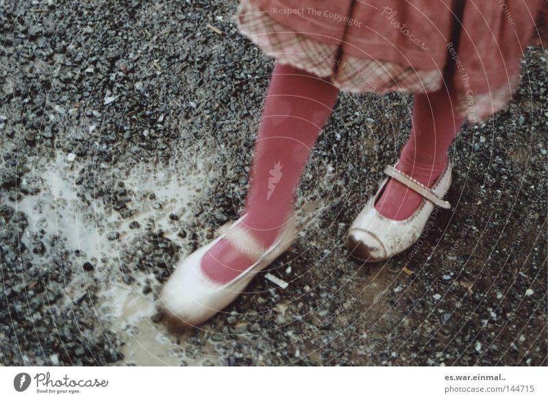 Child Girl Joy Playing Movement Legs Rain Feet Footwear Contentment Infancy Heart Pink Dirty Birthday