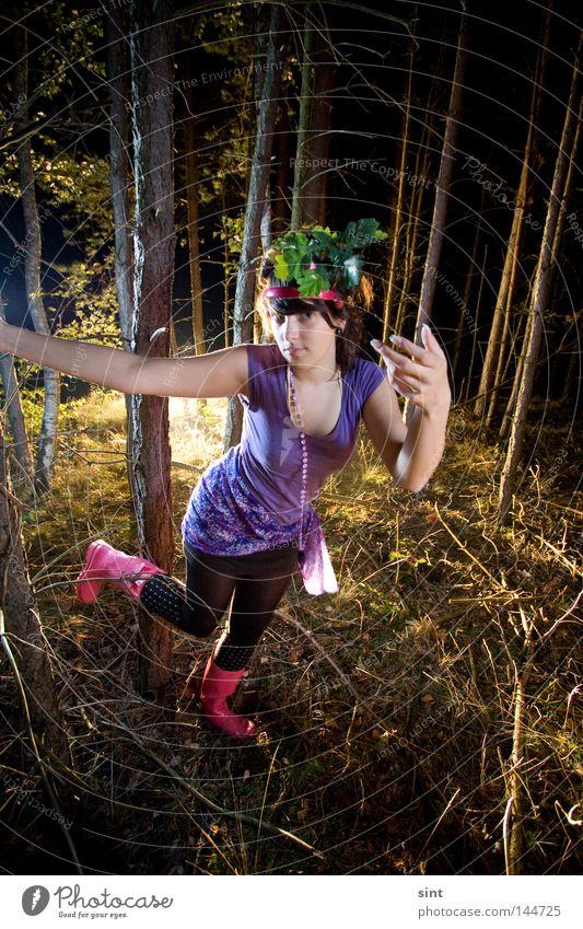 holla die waldfee Joy Dark Wood Obscure Share Digital Fairy Flash