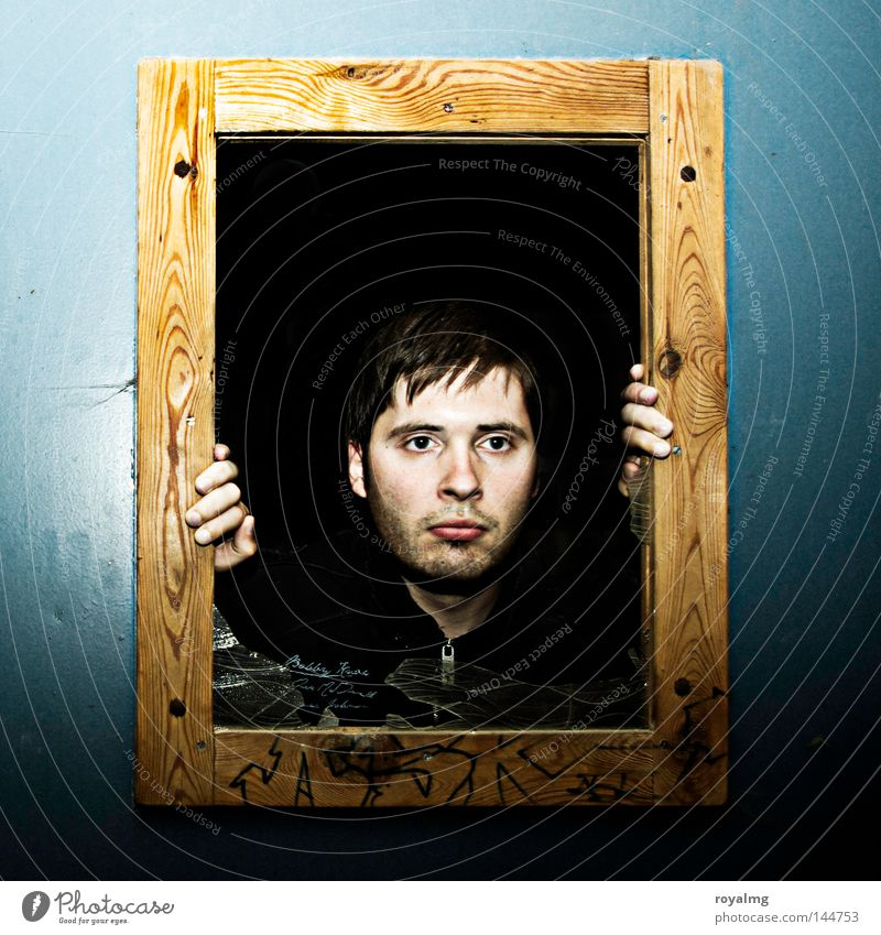 Human being Man Sadness Grief Concentrate Captured Appearance Converse Nerviness Picture frame Tense 300