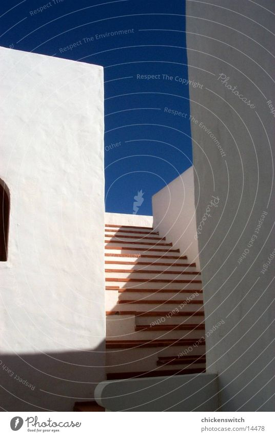 stairs House (Residential Structure) Wall (building) Architecture Sky Stairs