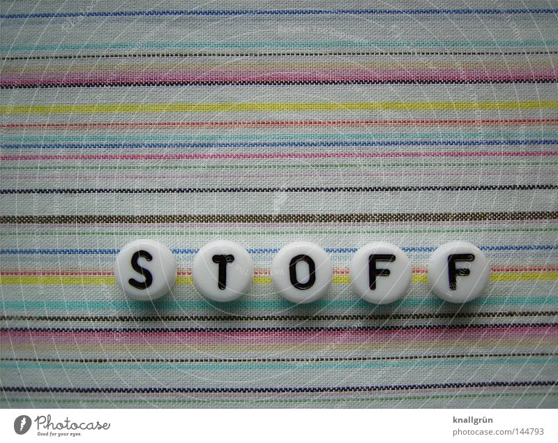White Blue Yellow Brown Pink Round Characters Letters (alphabet) Stripe Cloth Obscure Pearl Word Material Striped