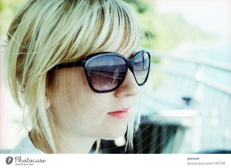 Woman Beautiful Ocean Summer Vacation & Travel Lake Blonde Eyeglasses Sunglasses Pallid Attractive