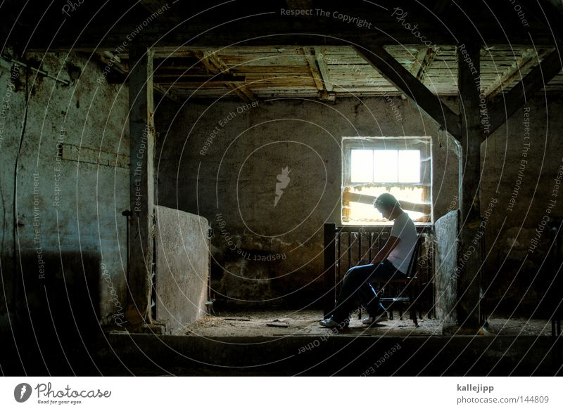 Human being Man Loneliness Window Cold Life Architecture Death Room Earth Sit Stand Skin Empty Dance event Break