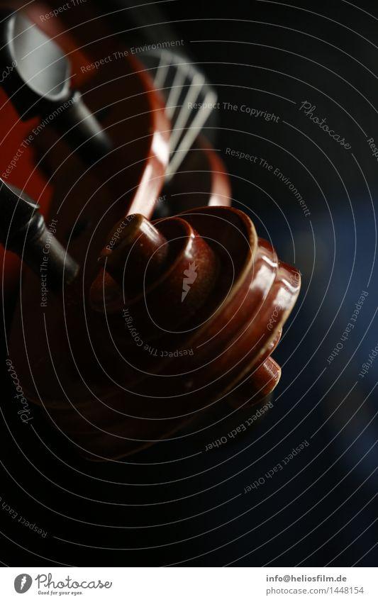 Geigenhals Elegant Design Music Ornament Blue Brown Moody Joy Passion Sadness Relaxation Performance Luxury Nostalgia violin instrument Classic Classical
