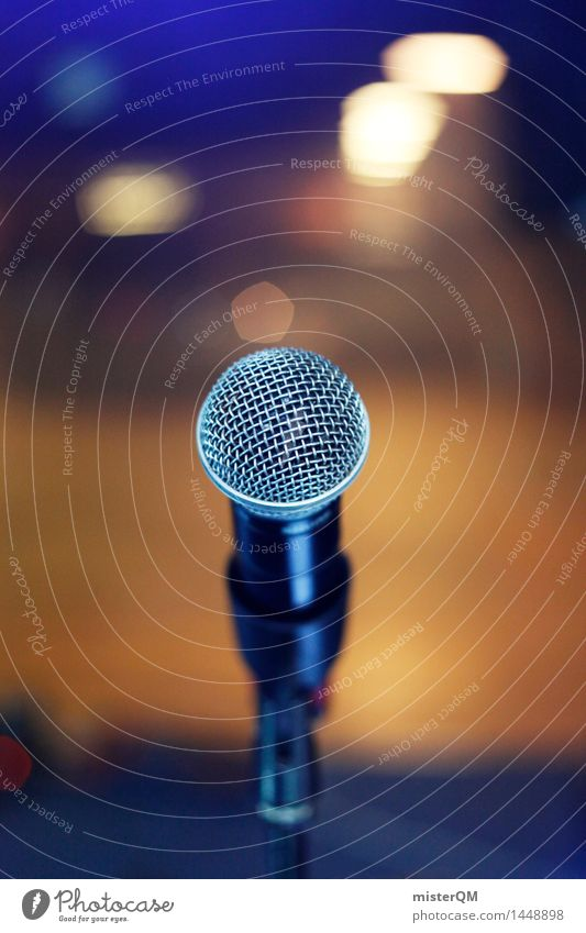 Show must go on. Art Youth culture Event Shows Music Concert Outdoor festival Stage Singer Band Musician Esthetic Microphone Microphone lead Office