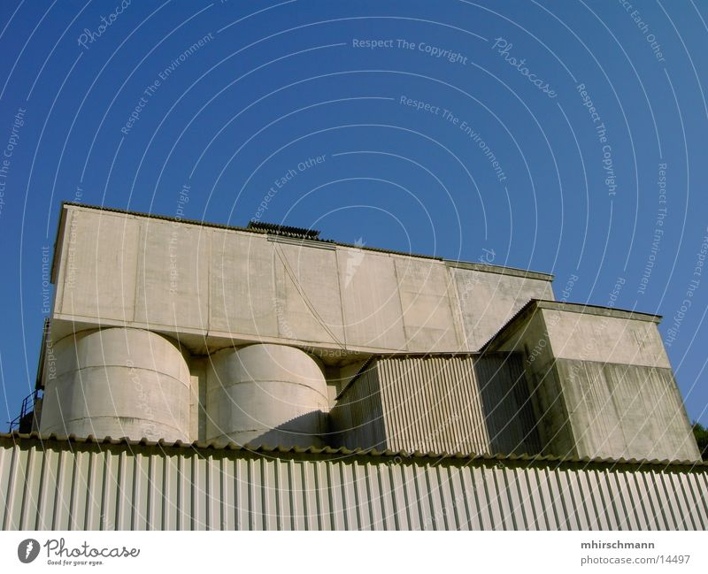 Sky House (Residential Structure) Gray Building Architecture Concrete Silo Quarry