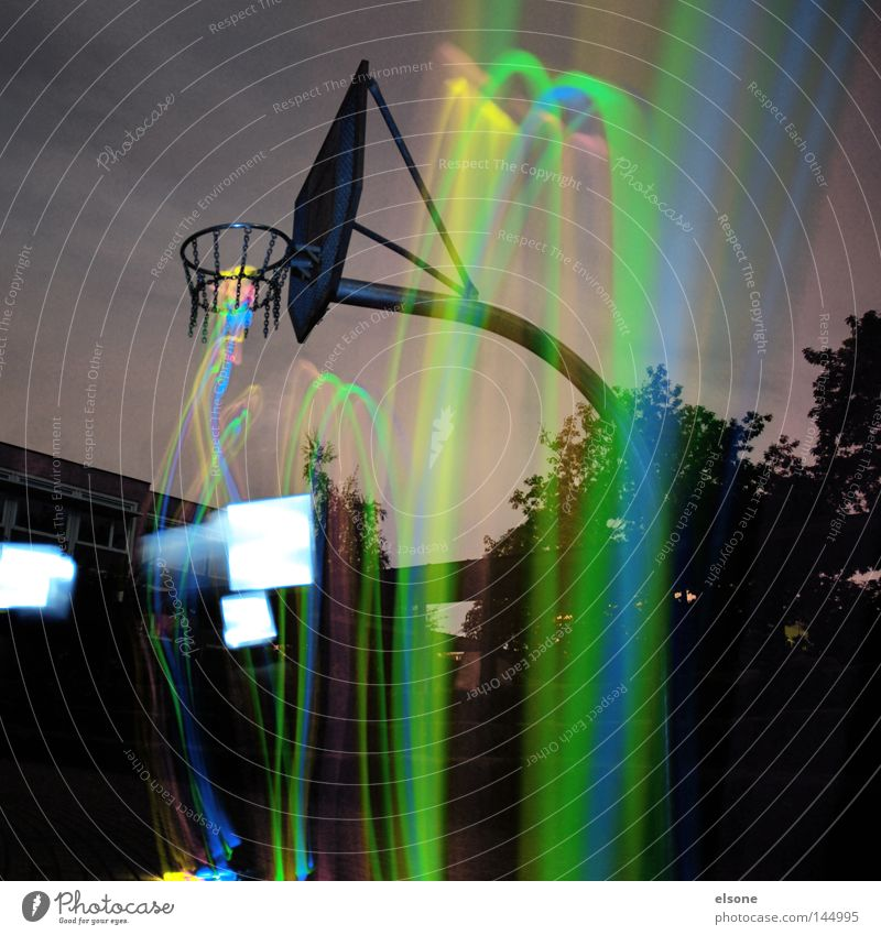 ::LIGHT:DUNK:: Basketball Ball sports Playing field National Basketball Association Bright Light Funsport Sports