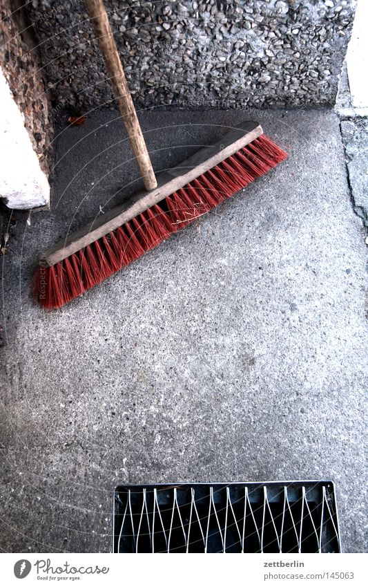 broom Broom Sweep Clean Cleaning Sidewalk Entrance Way out Broomstick Witch Craft (trade) Services Living or residing sweeper cleaning service szadtreinigung