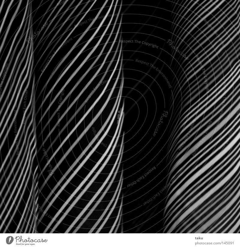 White Black Line Clothing Dress Stripe Wrinkles Diagonal Hang Striped Hanger