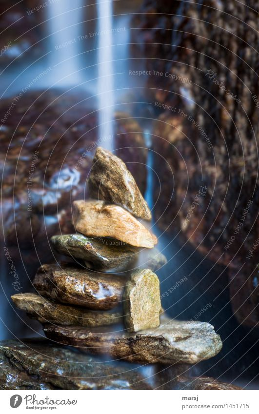 Nature Water Relaxation Calm Life Natural Exceptional Stone Contentment Power Wet Grief Well-being Harmonious Meditation Refreshment