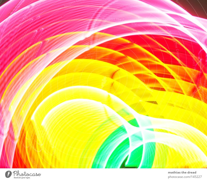 Beautiful White Green Red Joy Black Yellow Colour Dark Line Bright Pink Crazy Circle Point Alcohol-fueled