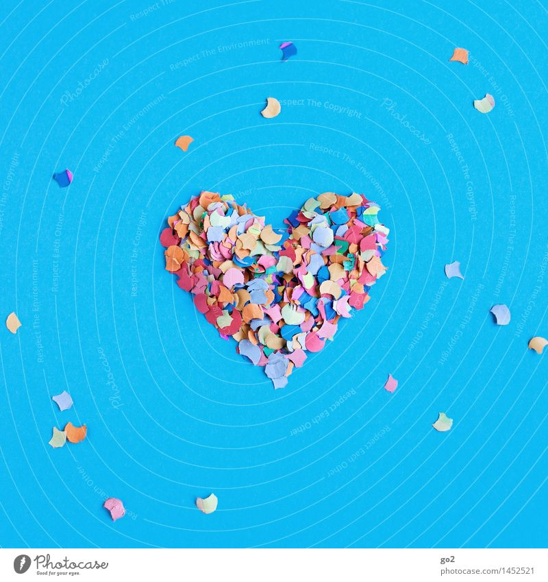 confetti heart Joy Entertainment Event Feasts & Celebrations Carnival New Year's Eve Fairs & Carnivals Wedding Birthday Paper Decoration Confetti Sign Heart
