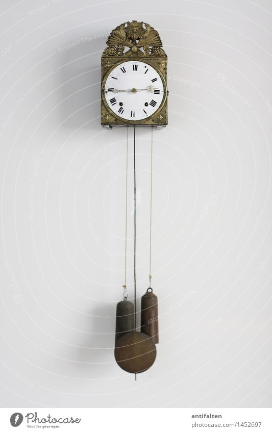 time is racing Design Flat (apartment) Clock Wall clock Art Exhibition Museum Work of art Sign Digits and numbers String Clock hand Roman numerals Hour hand