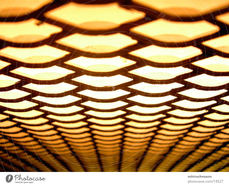 extravagant Light Elevator Driving Yellow Macro (Extreme close-up) Close-up Honey-comb Light (Natural Phenomenon)