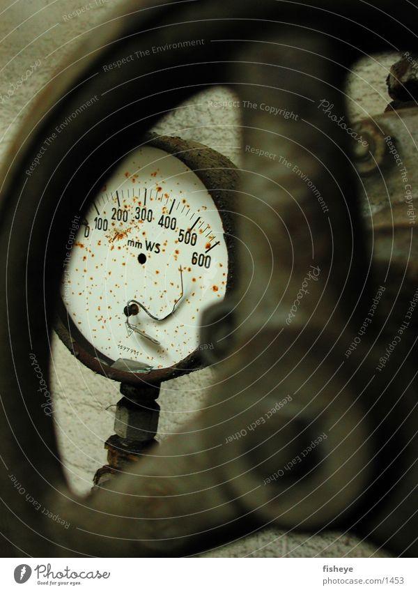 pressure drop Valve Installations Broken Scrap metal Iron Factory Industry pressure gauge Rust Old