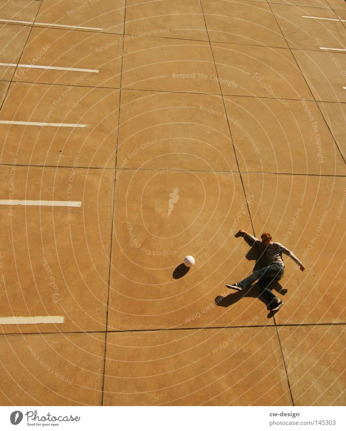 URBAN GAMES pt.VI Concrete Hard Cold Sports Playing Body tension Leisure and hobbies Line Stripe Pattern Rhythm Arrangement Parking Parking lot Parking level