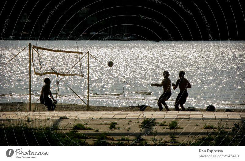 Water Vacation & Travel Summer Ocean Beach Joy Sports Warmth Playing Sand Lake Waves Swimming pool Ball Net Hot