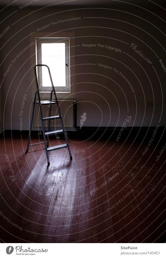 solitary Ladder Loneliness Dark Room Light Window Shadow Transience Living or residing