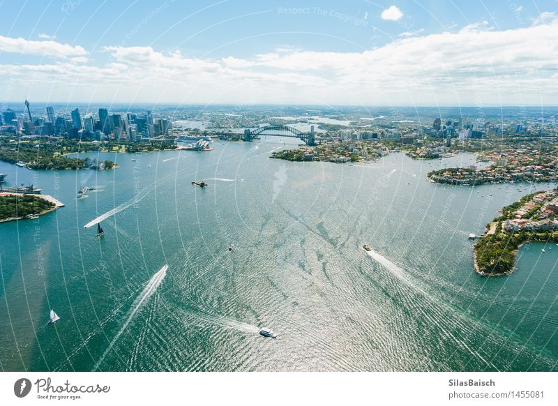 Sydney Habour Nature Vacation & Travel Summer Ocean Far-off places Life Coast Happy Lifestyle Freedom Tourism Waves Trip Beautiful weather Adventure Landmark
