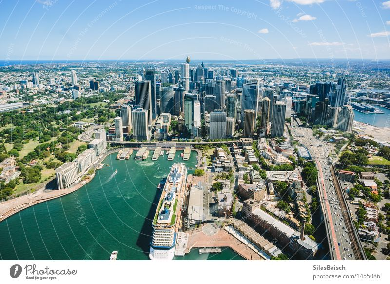 Sydney Downtown I Lifestyle Vacation & Travel Tourism Trip Adventure Far-off places Freedom Sightseeing City trip Cruise Summer vacation Ocean Beautiful weather