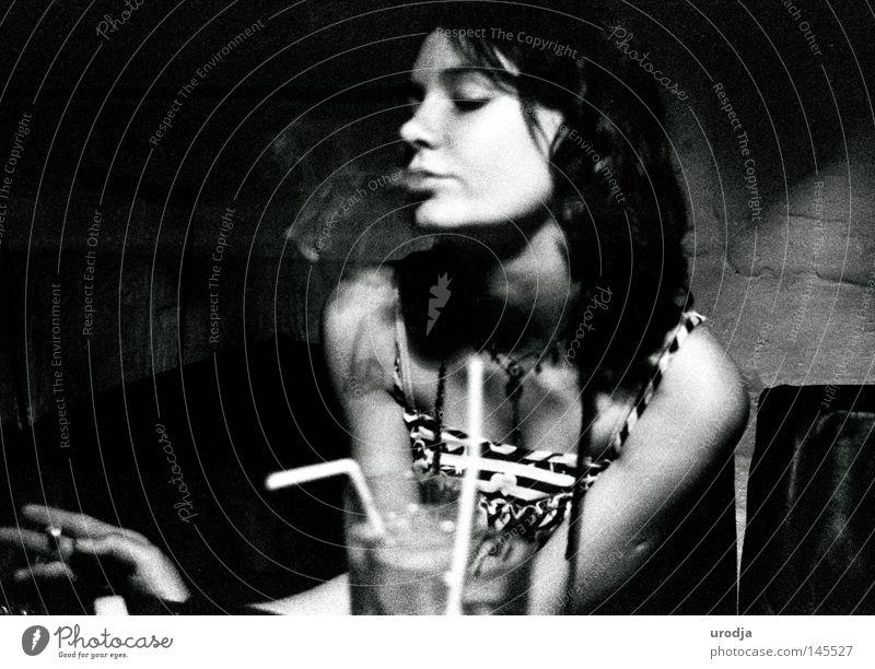 ORLA Café Film Black & white photo Portrait photograph contax 3200 Ilford smokin high grain