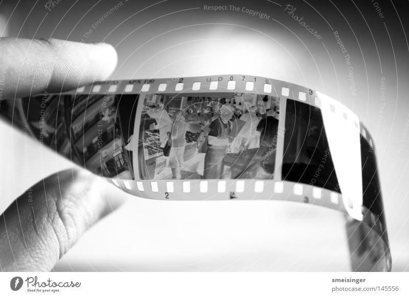 photographed black-and-white negative Leisure and hobbies Hand Fingers To hold on Glittering Clean Black White Negative Film Analog Photography apx100