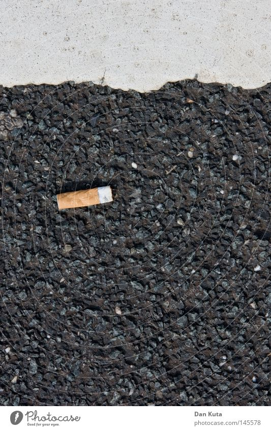 Street Lanes & trails Floor covering Search Smoking Illustration Asphalt Trash Tobacco products Division Cigarette Parking Graphic Geometry Pull Rough