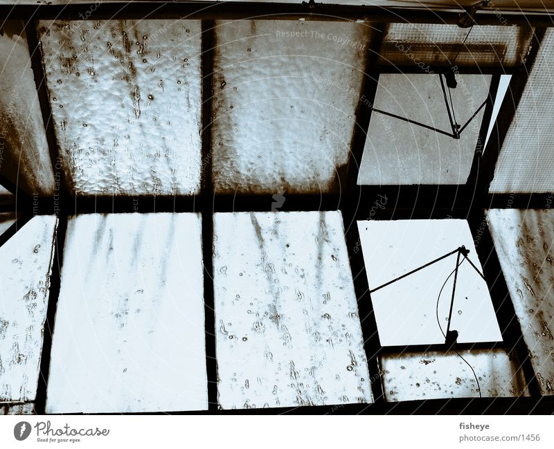 skylit Window Dismantling Factory Industry Old Loneliness
