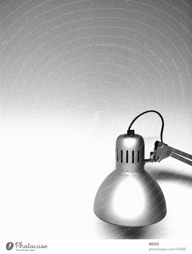 White Black Lamp Work and employment Technology Silver Electrical equipment