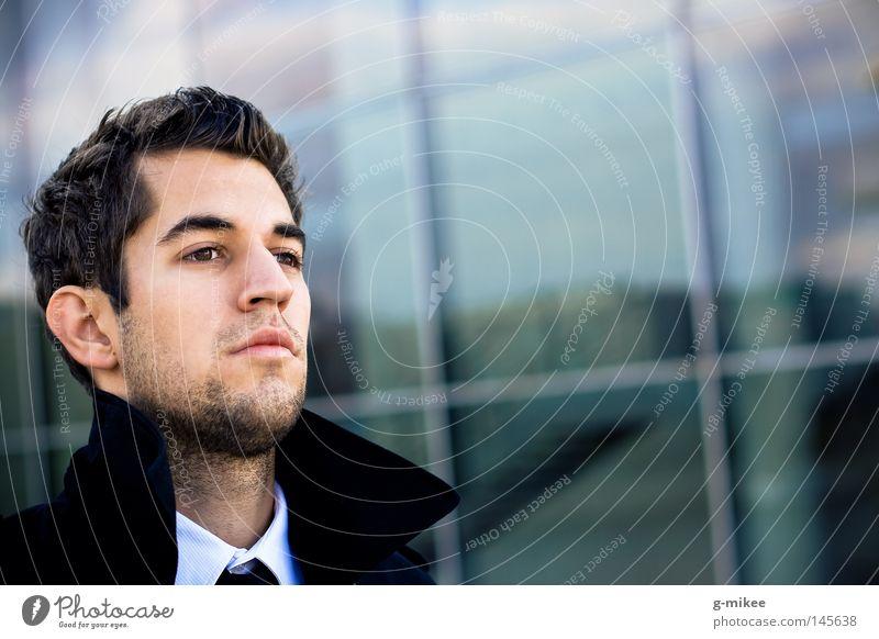 busy Face Success Business Masculine Man Adults Suit Stress Concentrate Posture Earnest serious businnes g-mikee Action Businessman Colour photo Exterior shot