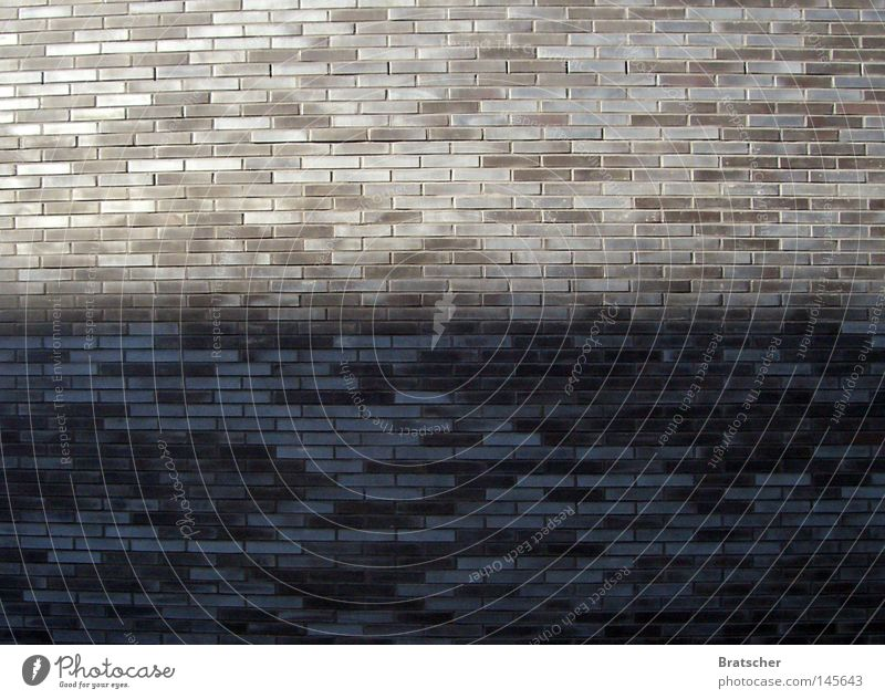 Gray Stone Wall (barrier) Architecture Industry Simple Shaft of light