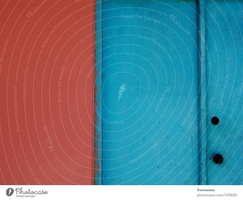 Blue Red House (Residential Structure) Colour Wall (building) Wall (barrier) Line Pink Door Geometry Maldives