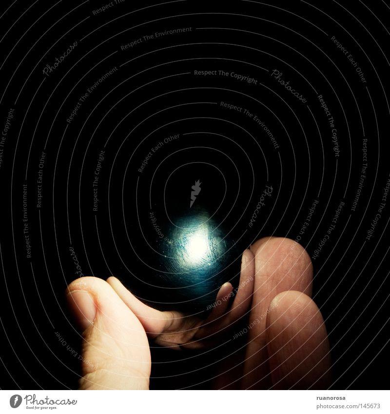 Sfera Hand Fingers Reflection Fingernail Night sky Metal Obscure Sphere Clock face Glittering Black Ball Dark Surface