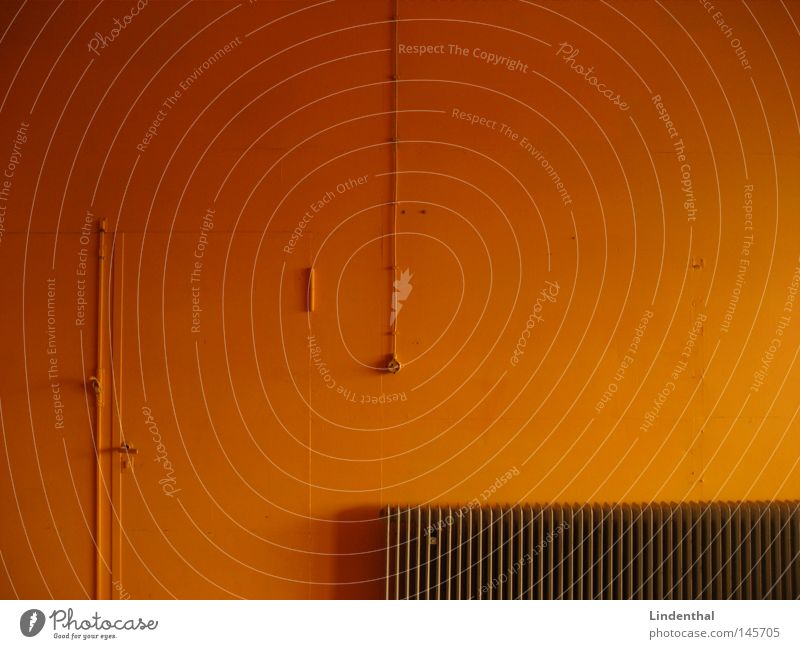 Orange Wall Wall (building) Heat Heater Switch Multicoloured Flashy Obscure Line Pipe