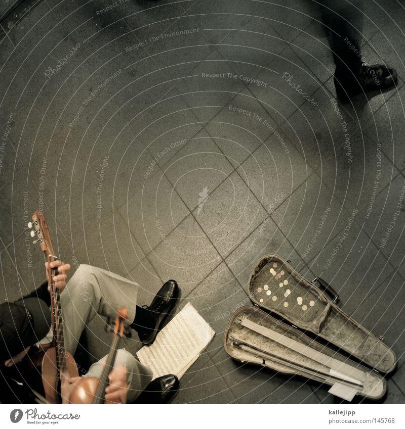 four seasons Music Musician Chapel Violin Sound Sense of hearing Beat Musical notes Sheet music Guitar String instrument Musical instrument Beg Busker