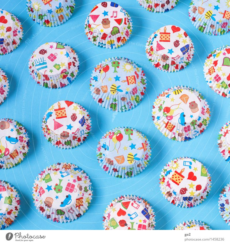 Blue Colour Joy Feasts & Celebrations Food Party Design Decoration Birthday Happiness Nutrition Esthetic Creativity Heart Joie de vivre (Vitality) Gift