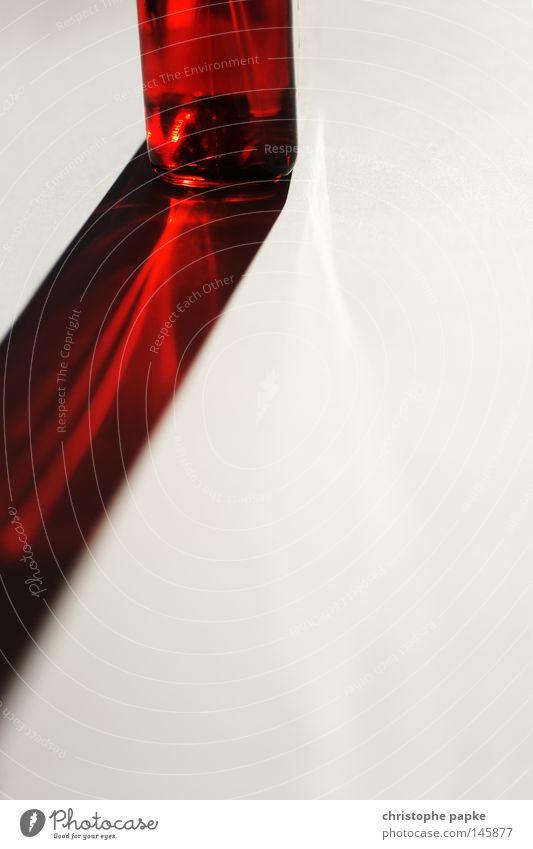 Beautiful Red Lighting Esthetic Corner Simple Fluid Radiation Transparent Refraction Perfume Abstract Beam of light Reduced Lighting effect