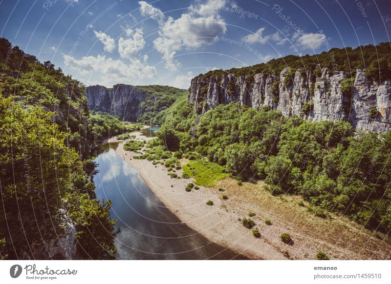 gorges du chassezac Vacation & Travel Tourism Trip Far-off places Freedom Summer Mountain Hiking Climbing Mountaineering Nature Landscape Sky Weather Tree